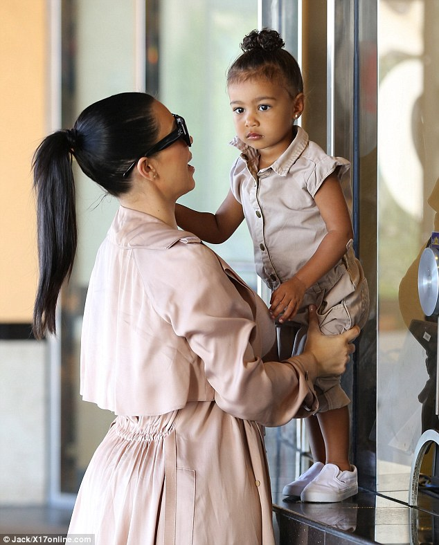 Excited: North was clearly looking forward to the film, apparently about to watch Minions