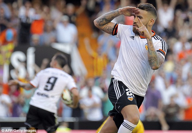 They have not given up on Nicolas Otamendi but Valencia insist they must match his £35.6m buyout clause