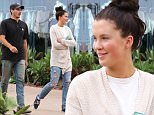 Please contact X17 before any use of these exclusive photos - x17@x17agency.com   EXCLUSIVE - Ireland Baldwin and boyfriend Jon Kasic look very much in love as they step out for some shopping at Cross Creek on a rare rainy day in Malibu, CA. Saturday, July 18, 2015. X17Online.com