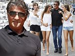 18.JULY.2015 - MONACO - FRANCE\n*** AVAILABLE FOR UK SALE ONLY ***\nSYLVESTER STALLONE WITH HIS WIFE JENNIFER FLAVIN AND THEIR THREE DAUGHTERS ENJOY A DAY ON A FRIEND'S YACHT IN MONACO\nBYLINE MUST READ : E-PRESS / XPOSUREPHOTOS.COM\n***UK CLIENTS - PICTURES CONTAINING CHILDREN PLEASE PIXELATE FACE PRIOR TO PUBLICATION ***\n**UK CLIENTS MUST CALL PRIOR TO TV OR ONLINE USAGE PLEASE TELEPHONE 0208 344 2007**