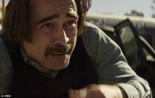 Intense shootout: Colin Farrell joined in on the deadly gun battle that broke out in broad daylight