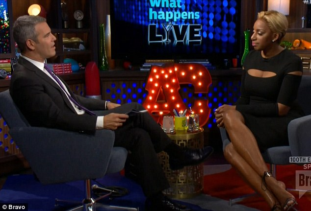 One word answer: Andy Cohen asked NeNe for her first impression of Kenya and she replied 'crazy'