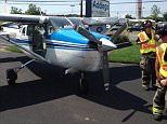 A small aircraft landed safely on Rt 72 near Home Depot. No injuries. More info to come