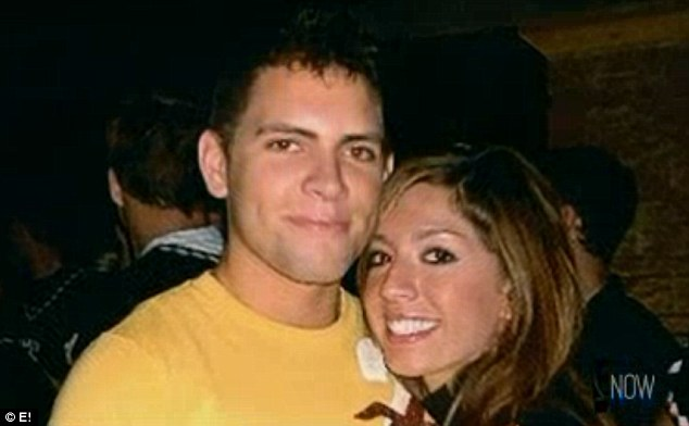 Tragic loss: Farrah's boyfriend Derek (pictured) died in a car accident when she was pregnant with their daughter Sophia and filming MTV reality show 16 and Pregnant