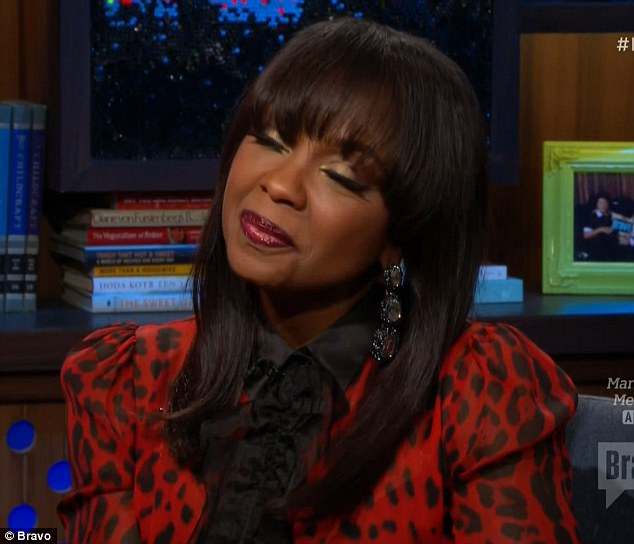 Breaking point: Phaedra Parks that she reached her breaking point with Kenya