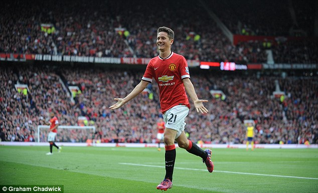 Ander Herrera was impressive towards the end of the season but could find his place in the side under threat