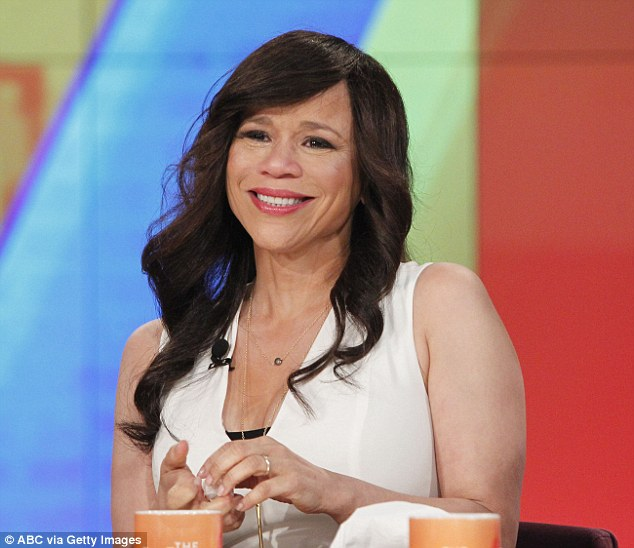 Farewell: Last week, Rosie Perez made the tearful announcement that she will be leaving the programme
