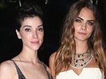 CAP D'ANTIBES, FRANCE - MAY 19:  Annie Clark and Cara Delevigne attend the De Grisogono party during the 68th annual Cannes Film Festival on May 19, 2015 in Cap d'Antibes, France.  (Photo by Gisela Schober/Getty Images)