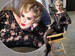 """NEW YORK, NY - JULY 20:  (EXCLUSIVE COVERAGE) Rumer Willis as """"Roxie Hart"""" behind the scenes at a photo shoot for her broadway debut in """"Chicago"""" on Broadway at The Highline Studios on July 20, 2015 in New York City.  (Photo by Bruce Glikas/FilmMagic)"""