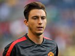 SEATTLE, UNITED STATES - JULY 17:  Matteo Darmian of Manchester United during the International Champions Cup 2015 match between Club America and Manchester United  at CenturyLink Field on July 17, 2015 in Seattle, Washington.  (Photo by Matthew Ashton - AMA/Getty Images)