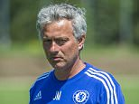 Chelsea FC via Press Association Images MINIMUM FEE 40GBP PER IMAGE - CONTACT PRESS ASSOCIATION IMAGES FOR FURTHER INFORMATION. Chelsea's Jose Mourinho during a training session on 20th July 2015 at the Montreal Impact Training Centre in Parc Champetre, Canada.