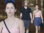 Picture Shows: Anna Kendrick, Ben Richardson  July 20, 2015\n \n Makeup free 'Pitch Perfect' star Anna Kendrick and her boyfriend Ben Richardson go watch shopping at Kaimana Kea in Honolulu, Hawaii. After trying on a Rolex, Ben decided against purchasing it. Afterward the couple swung by Starbucks for a midday pick-me-up. \n \n Exclusive All Rounder\n UK RIGHTS ONLY\n FameFlynet UK © 2015\n Tel : +44 (0)20 3551 5049\n Email : info@fameflynet.uk.com