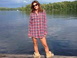 EROTEME.CO.UK FOR UK SALES: Contact Caroline 44 207 431 1598 Picture shows: Cindy Crawford NON-EXCLUSIVE     Sunday 19th July 2015 Job: 150719UT3  London, UK EROTEME.CO.UK 44 207 431 1598 Disclaimer note of Eroteme Ltd: Eroteme Ltd does not claim copyright for this image. This image is merely a supply image and payment will be on supply/usage fee only.
