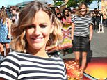 21st  July 2015\n\nThe X Factor - London auditions held at SSE Arena Wembley, Arena Square, Engineers Way, London.\n\nHere: Caroline Flack\n\nCredit: Justin Goff/Goffphotos.com