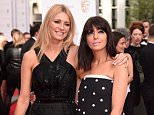 Mandatory Credit: Photo by David Fisher/REX Shutterstock (4763805bz)  Tess Daly and Claudia Winkleman  House of Fraser British Academy Television Awards, Arrivals, Theatre Royal, London, Britain - 10 May 2015
