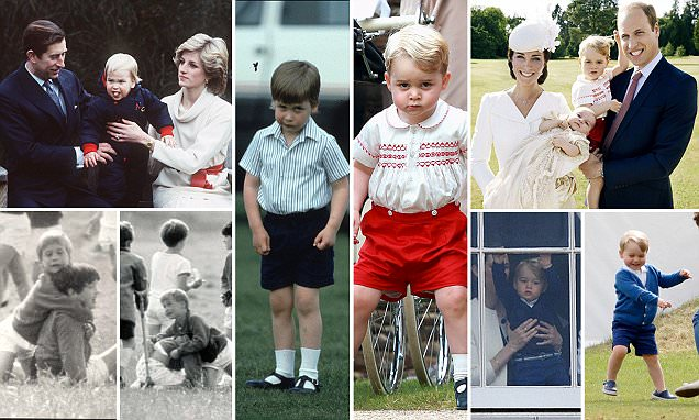 How Prince George is taking after Prince William