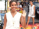 X Factor auditions at the Wembley Arena - Arrivals. Featuring: Rochelle Humes Where: London, United Kingdom When: 21 Jul 2015 Credit: Daniel Deme/WENN.com