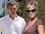 EXCLUSIVE: The Spanish actor Antonio Banderas arrives at the beach with his girlfriend, Nicole Kimpel, where filming with a drone a promotion of Malaga, his hometown\nEXCLUSIVE\n\nPictured: Antonio Banderas, Nicole Kimpel\nRef: SPL1083376  200715   EXCLUSIVE\nPicture by: Splash News\n\nSplash News and Pictures\nLos Angeles: 310-821-2666\nNew York: 212-619-2666\nLondon: 870-934-2666\nphotodesk@splashnews.com\n