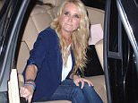 Celebrities leaving Craig's in West Hollywood\n\nFeaturing: Kim Richards\nWhere: Los Angeles, California, United States\nWhen: 16 Mar 2015\nCredit: MONEY$HOT/WENN.com