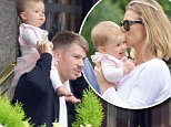 19.JULY.2015 - LONDON - UK\n*EXCLUSIVE ALL ROUND PICTURES NOT AVAILABLE FOR AUSTRALIA*\nAUSTRALIAN CRICKETER DAVID WARNER AND HIS WIFE CANDY WARNER ARE SEEN TAKING THEIR DAUGHTER OUT FOR A STROLL IN LONDON.\nTHE COUPLE RECENTLY ANNOUNCED THEY ARE EXPECTING A SECOND CHILD.\nBYLINE MUST READ : XPOSUREPHOTOS.COM\n***UK CLIENTS - PICTURES CONTAINING CHILDREN PLEASE PIXELATE FACE PRIOR TO PUBLICATION ***\n**UK CLIENTS MUST CALL PRIOR TO TV OR ONLINE USAGE PLEASE TELEPHONE 0208 344 2007**