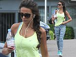 *** Fee of £150 applies for subscription clients to use images before 22.00 on 220715 *** EXCLUSIVE ALLROUNDERMichelle Keegan leaves a gym in Essex despite husband Mark Wright taking a delivery of home gym equipment last week Featuring: Michelle Keegan Where: London, United Kingdom When: 22 Jul 2015 Credit: WENN.com