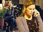 140387, EXCLUSIVE: Jennifer Garner seen all alone in tears as she talks on phone outside the 'La Tavola' Restaurant after a long day filming a movie ÏMiracles from HeavenÓ in Atlanta. Atlanta, Georgia - Tuesday July 21, 2015. Photograph: © PacificCoastNews. Los Angeles Office: +1 310.822.0419 sales@pacificcoastnews.com FEE MUST BE AGREED PRIOR TO USAGE