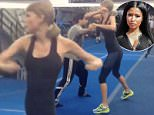 Taylor Swift's first ever fighting lesson for Bad Blood