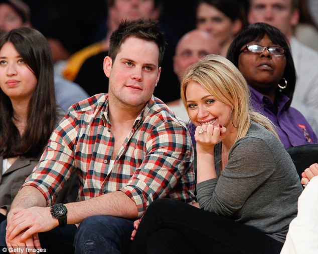 Ex: Hilary recently filed for divorce from Mike Comrie, a retired ice hockey player, after separating from him in early 2014