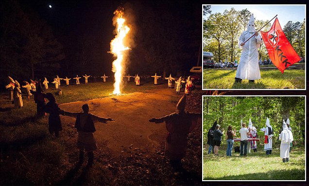 Ku Klux Klan documentary reveals reviled racists are GROWING in strength