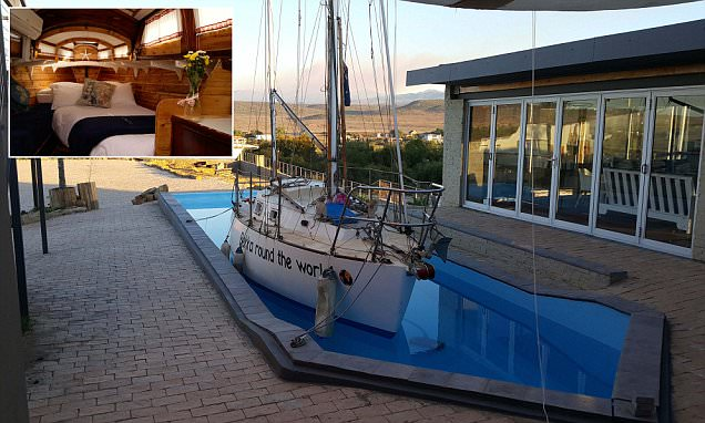 Mount Noah Lodge in South Africa has seven luxury yachts to rent