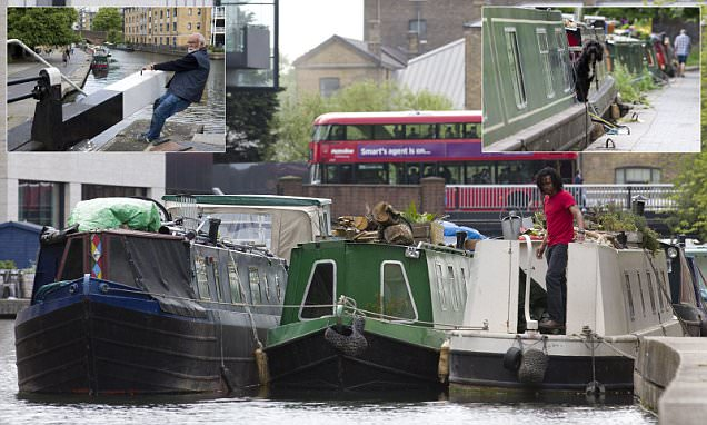 Canalboats become the new property must-haves for Londoners