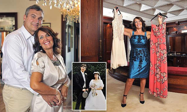 Poundland's thrifty millionairess Tracy Smith buys clothes from Sainsbury's