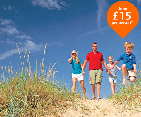 Mail Holiday Parks - £15 per person