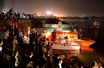 Cairo, Party boat, River Nile, Rescue operation