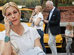 EXCLUSIVE TO INF. PREMIUM RATES APPLY.\nJuly 23, 2015: Kelly Rutherford and her boyfriend Tony Brand are seen taking her kids Helena and Hermes Giersch to have dinner at Gina in the Upper East Side in New York City.  Rutherford lost her bid to fight for full custody in California on Thursday, July 23 to her ex-husband Daniel Giersch.  A judge in Monaco, where Rutherford's ex-husband Giersch has lived since 2012, has given him full custody over their children.\nMandatory Credit: Elder Ordonez/INFphoto.com Ref: infusny-160