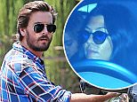 Scott Disick collects his daughter Penelope from Kourney (not pictured) at his new home in Beverly Hills, CA. Kourtney arrived in a black Escalade after the two met at The Beverly Hills Hotel. Scott left the hotel in his new silver Mercedes GT AMG.\n\nPictured: Scott Disick \nRef: SPL1085989  230715  \nPicture by: Splash News\n\nSplash News and Pictures\nLos Angeles: 310-821-2666\nNew York: 212-619-2666\nLondon: 870-934-2666\nphotodesk@splashnews.com\n