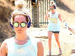 Picture Shows: Ashley Tisdale  July 23, 2015\n \n Actress Ashley Tisdale stops by a gas station before enjoying a solo hike in Los Angeles, California. \n \n Ashley recently announced that she is starting her own fashion website called 'The Haute Mess.'\n \n Exclusive - All Round\n UK RIGHTS ONLY\n \n Pictures by : FameFlynet UK © 2015\n Tel : +44 (0)20 3551 5049\n Email : info@fameflynet.uk.com