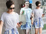 Mandatory Credit: Photo by Startraks Photo/REX Shutterstock (4914381f)\n Lily Collins\n Lily Collins out and about, Los Angeles, America - 23 Jul 2015\n Lily Collins Around Town in La\n