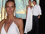 SAINT-TROPEZ, FRANCE - JULY 22: Heidi Klum and Vito Schnabel attend a cocktail reception during The Leonardo DiCaprio Foundation 2nd Annual Saint-Tropez Gala at Domaine Bertaud Belieu on July 22, 2015 in Saint-Tropez, France.  (Photo by Handout/Getty Images)