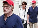 21.JULY.2015 - NEW YORK - USA\nAMERICAN ACTOR ROBERT REDFORD AND HIS WIFE SIBYLLE SZAGGARS GO SHOPPING AROUND THE SOHO NEIGHBOURHOOD IN DOWNTOWN MANHATTAN.\nBYLINE MUST READ : XPOSUREPHOTOS.COM\n*AVAILABLE FOR UK SALE ONLY*\n***UK CLIENTS - PICTURES CONTAINING CHILDREN PLEASE PIXELATE FACE PRIOR TO PUBLICATION ***\n*UK CLIENTS MUST CALL PRIOR TO TV OR ONLINE USAGE PLEASE TELEPHONE 0208 344 2007*