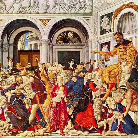 Matteo_di_Giovanni_Massacre-of-innocents-Bethlehem-460
