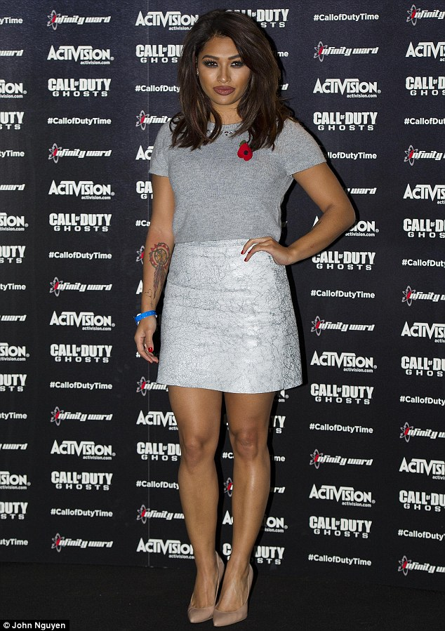 Tough: Vanessa White has spoken for the first time about her battle with alcohol