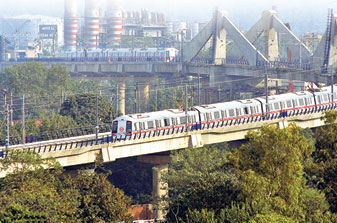 A FAR of 400 is applicable to areas along metro transit routes in Delhi
