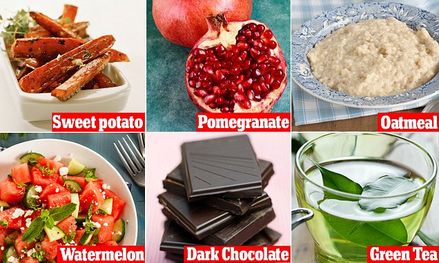 12 superfoods that can help heal sunburn