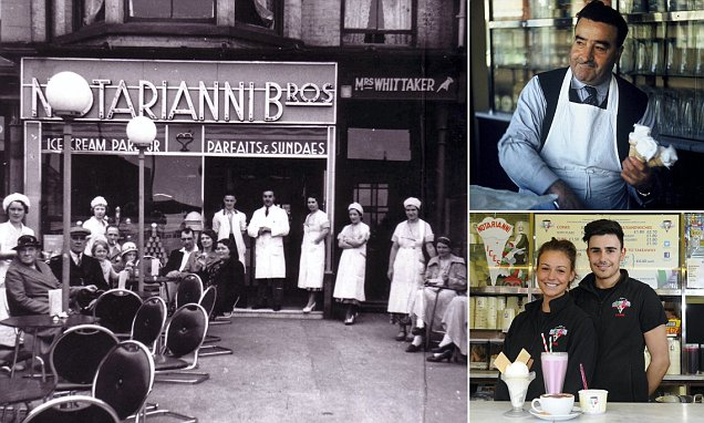 Blackpool's Notarianni's parlour celebrates 87th year selling just vanilla ice cream