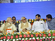 Narendra Modi with Nitish Kumar