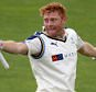 SCARBOROUGH, ENGLAND - JULY 19: Yorkshire's Jonny Bairstow celebrates his 100 during day one of the LV County Championship division One match between Yorkshire and Worcestershire at North Marine Road on July 19, 2015 in Scarborough, England. (Photo by Richard Sellers/Getty Images)
