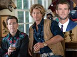 "In this image released by Warner Bros. Entertainment, Ed Helms, left, and Chris Hemsworth appear in a scene from ""Vacation."" (Hopper Stone/Warner Bros. Entertainment via AP)"