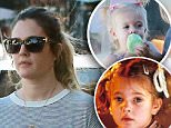 Picture Shows: Frankie Kopelman, Drew Barrymore  July 24, 2015\n \n Actress and busy mom Drew Barrymore is spotted shopping with her daughter Frankie and a friend in Larchmont, LA, California. \n \n Exclusive All Round\n UK RIGHTS ONLY\n \n Pictures by : FameFlynet UK © 2015\n Tel : +44 (0)20 3551 5049\n Email : info@fameflynet.uk.com