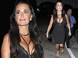 Picture Shows: Kyle Richards  July 24, 2015\n \n Celebrities dine out at Craig's Restaurant  in West Hollywood, California. \n \n Non Exclusive\n UK RIGHTS ONLY\n \n Pictures by : FameFlynet UK © 2015\n Tel : +44 (0)20 3551 5049\n Email : info@fameflynet.uk.com